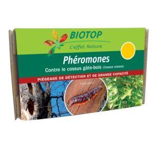 Phéromones spéciales cossus gâte-bois (2 capsules) Biotop
