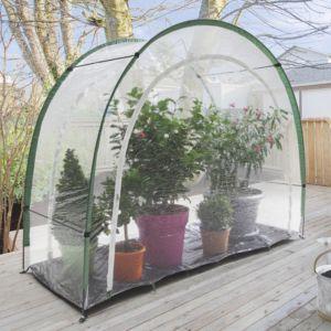 Serre de balcon ou terrasse Maxigreen hivernage 3.30 m² - Nortene