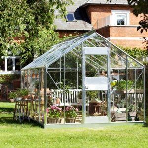 Serre de jardin Compact Plus polycarbonate 12.10m² - Juliana