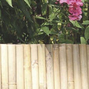 Bordure flexible en bambou 0.35 x 1m Nortène