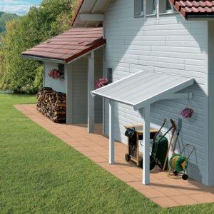 Auvent Pour Abri De Jardin En Résine Grosfillex 2.64 M²