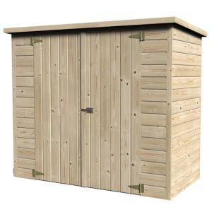 Remise de jardin bois Bike Box 1.88 m² Ep.12 mm 25ea3090f0ce
