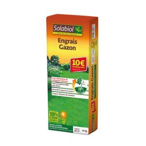ENGRAIS GAZON 10 KG - Solabiol