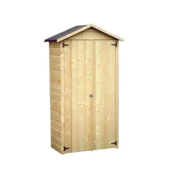 Armoire de jardin bois Arbae L105.5 H189 cm Ep.12 mm Colis L 170 cm ...