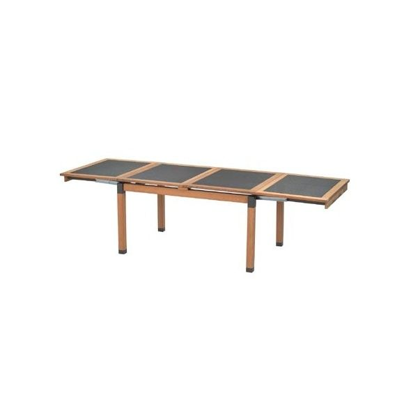 Beautiful table de jardin extensible emu photos amazing for Table extensible 75 x 75
