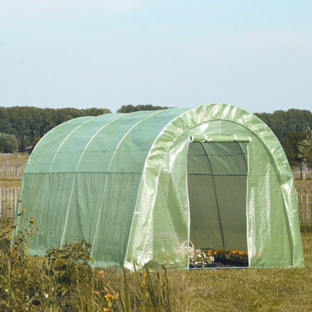 serre tunnel mara ch re 12m acd garden carton gamm vert. Black Bedroom Furniture Sets. Home Design Ideas