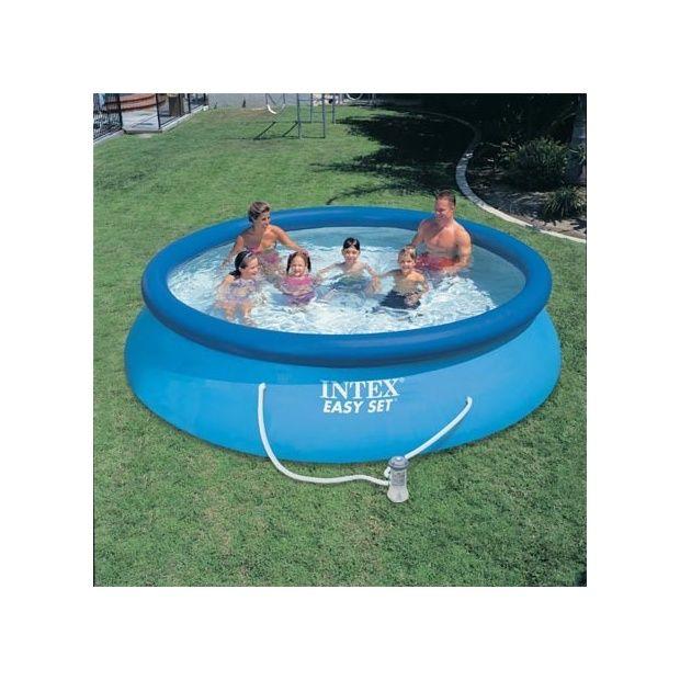 Kit piscine autoportante easy set intex d m x h 0 for Piscine autoportante easy set