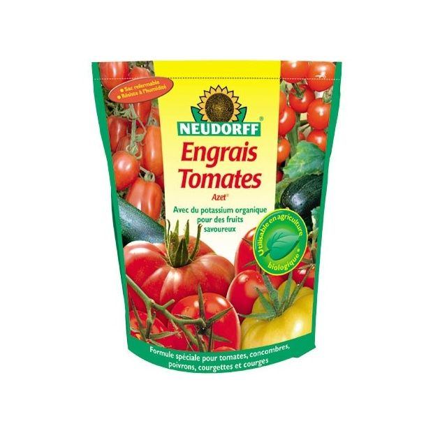 engrais bio tomate 1 75kg azet neudorff sachet refermable. Black Bedroom Furniture Sets. Home Design Ideas