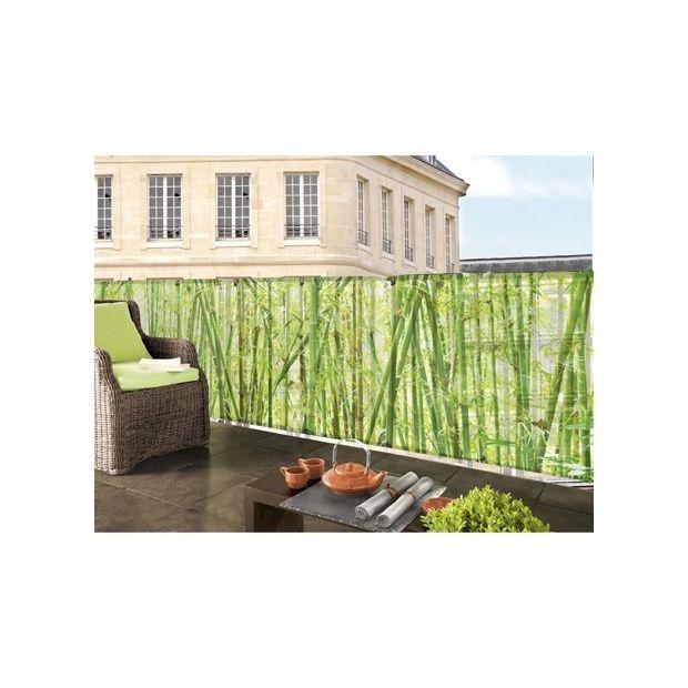brise vue imprim e bambou l3xh1m intermas celloplast l 3 m x h 1 rouleau minimum d 39 achat. Black Bedroom Furniture Sets. Home Design Ideas