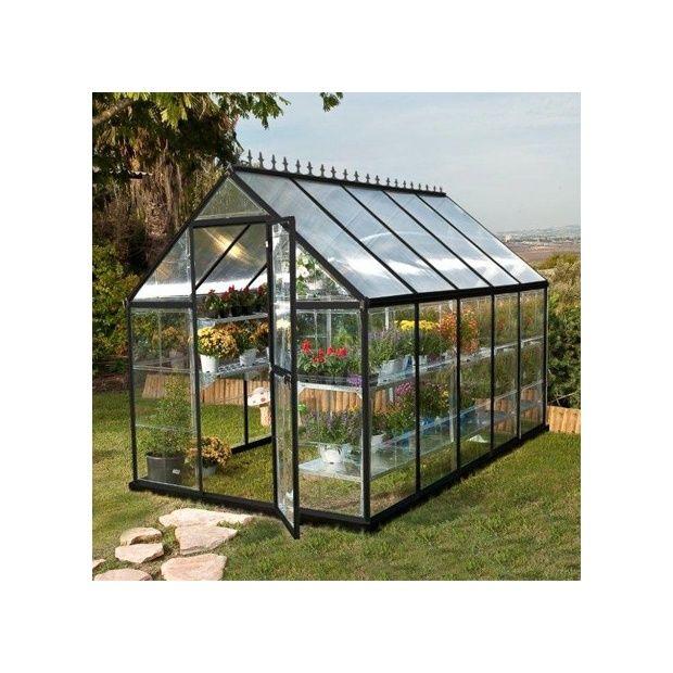 serre de jardin victorienne en polycarbonate m. Black Bedroom Furniture Sets. Home Design Ideas