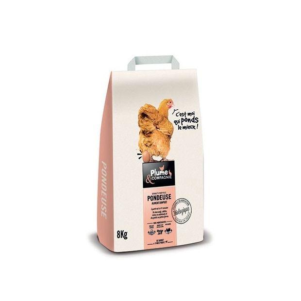 aliment complet pour poules pondeuses 8 kg sac 47 x 26 x. Black Bedroom Furniture Sets. Home Design Ideas