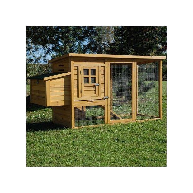 poulailler cottage 2 poules 2 cartons gamm vert. Black Bedroom Furniture Sets. Home Design Ideas