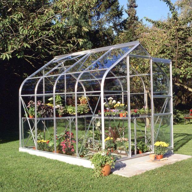 serre de jardin supreme verre horticole 5 m halls. Black Bedroom Furniture Sets. Home Design Ideas