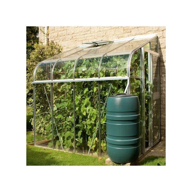 serre de jardin adoss e silverline verre horticole 4 8 m. Black Bedroom Furniture Sets. Home Design Ideas