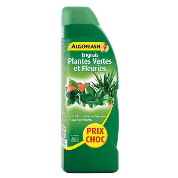 engrais plantes vertes et fleuries 800 ml algoflash flacon de 800 ml gamm vert. Black Bedroom Furniture Sets. Home Design Ideas
