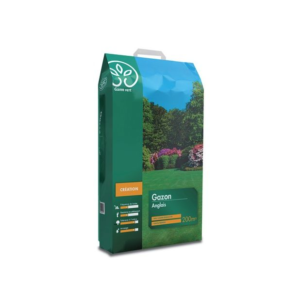 gazon anglais 5kg gamm vert sac de 5kg gamm vert. Black Bedroom Furniture Sets. Home Design Ideas
