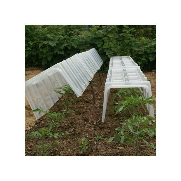2 embouts pour tunnel de for age pouss 39 vert carton gamm vert - Tunnel de forcage rigide pour jardin ...