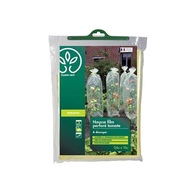 Film housse de croissance tomates 0 6 x 10 m gamm vert rouleau 0 6 x 10 m gamm vert - Enlever film plastique de protection ...