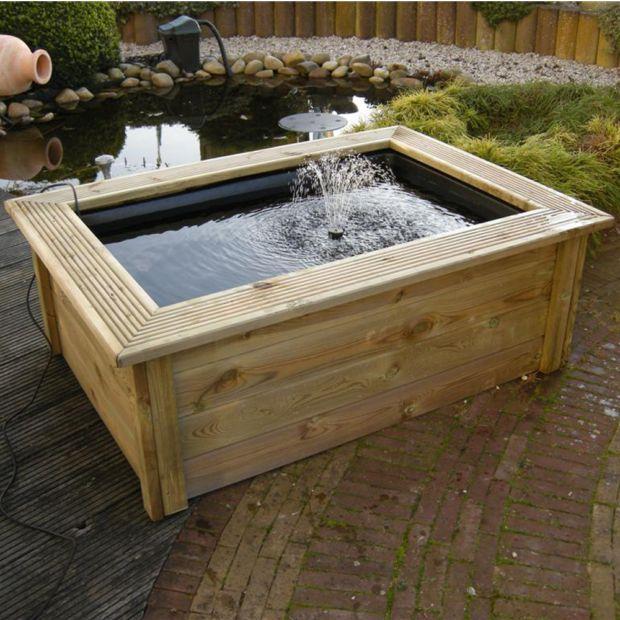 kit complet bassin quadra c3 bassin 365l contour bois pompe xtra 600 h64 x l75 x l137 cm. Black Bedroom Furniture Sets. Home Design Ideas