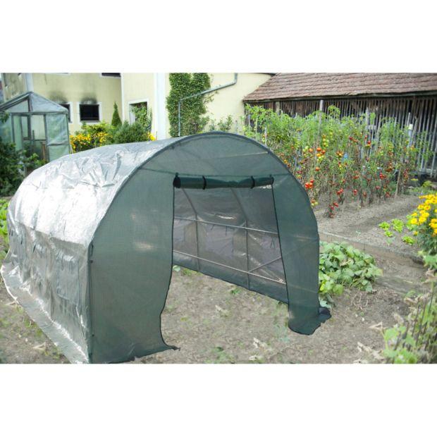 serre tunnel 18 m habrita gamm vert. Black Bedroom Furniture Sets. Home Design Ideas