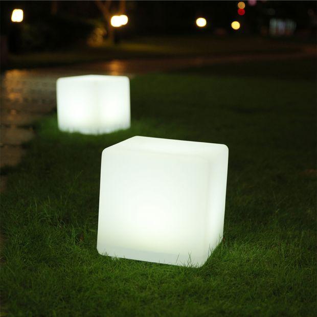 Cube Lumineux Lumisky Casy C Solaire Multicolore L  X P  H