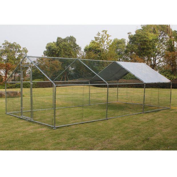 enclos pour poules 18 m gamm vert. Black Bedroom Furniture Sets. Home Design Ideas