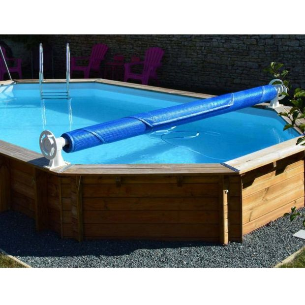 enrouleur luxe de b che t pour piscine hors sol sunbay. Black Bedroom Furniture Sets. Home Design Ideas