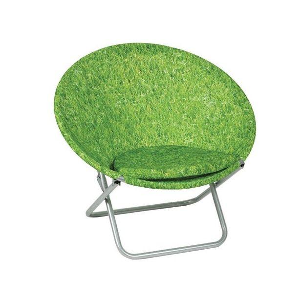 fauteuil pliant rond brin dherbe lafuma carton dimensions pli 80x16cm gamm vert - Fauteuil Pliant Lafuma