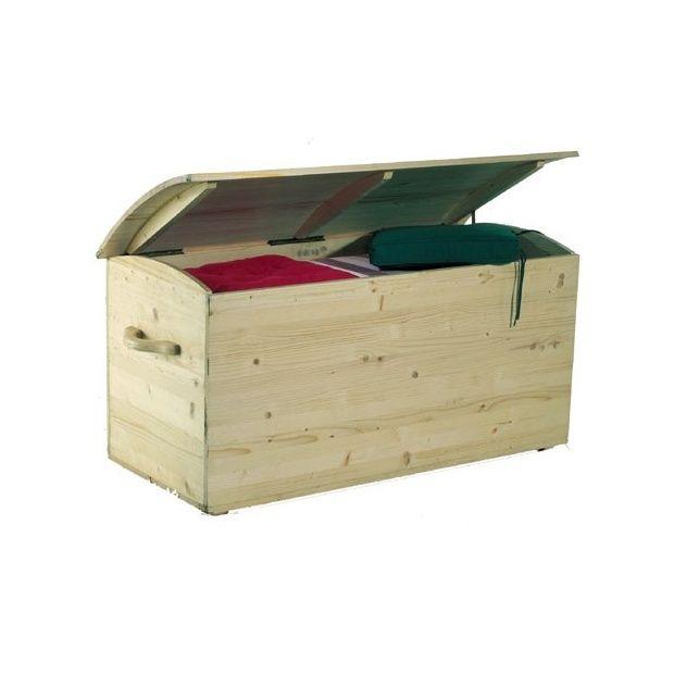 Coffre de rangement jardin en bois 330L Livré en Kit - Gamm Vert