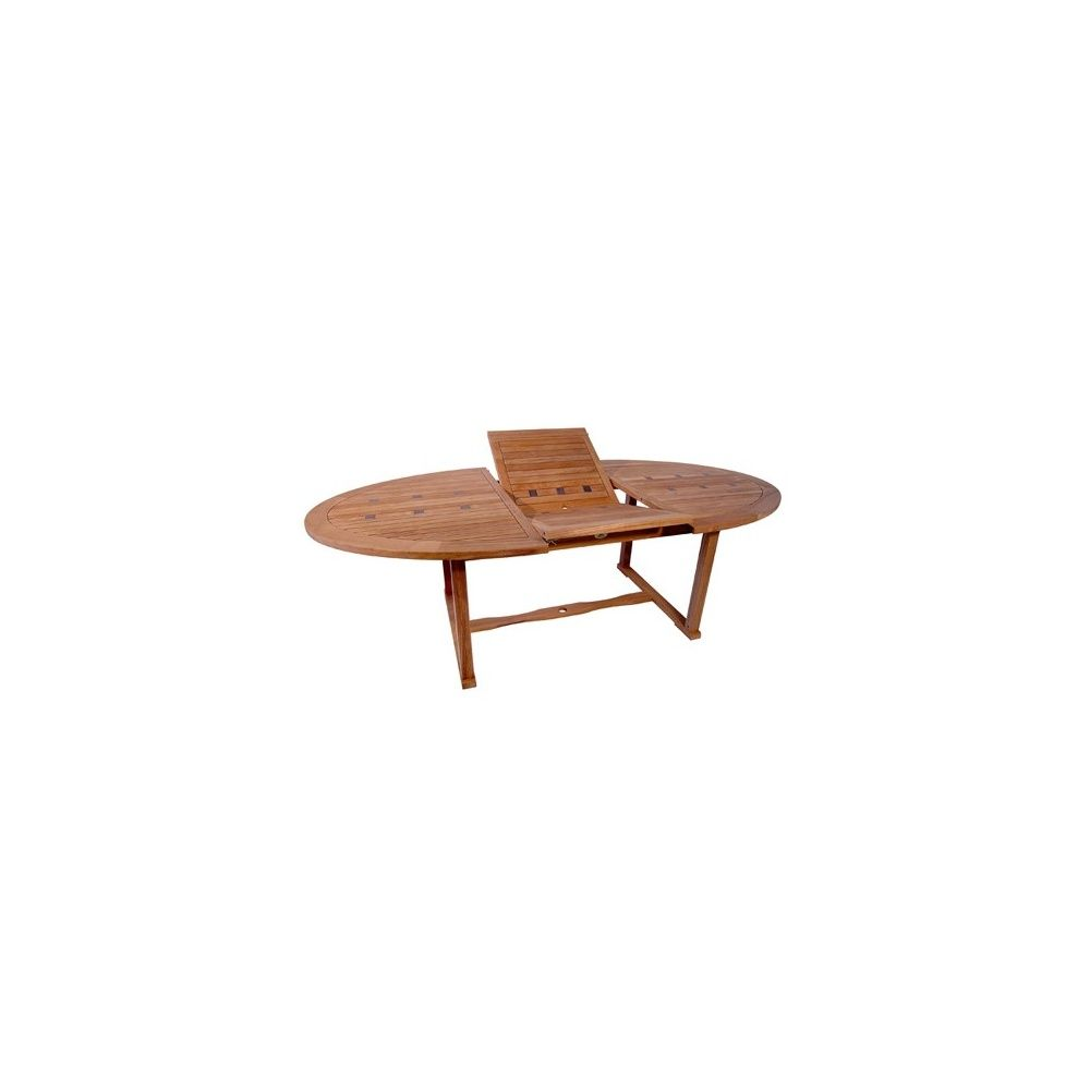 table ellipse slate royale rallonge papillon 180 240 x 120 cm carton gamm vert. Black Bedroom Furniture Sets. Home Design Ideas