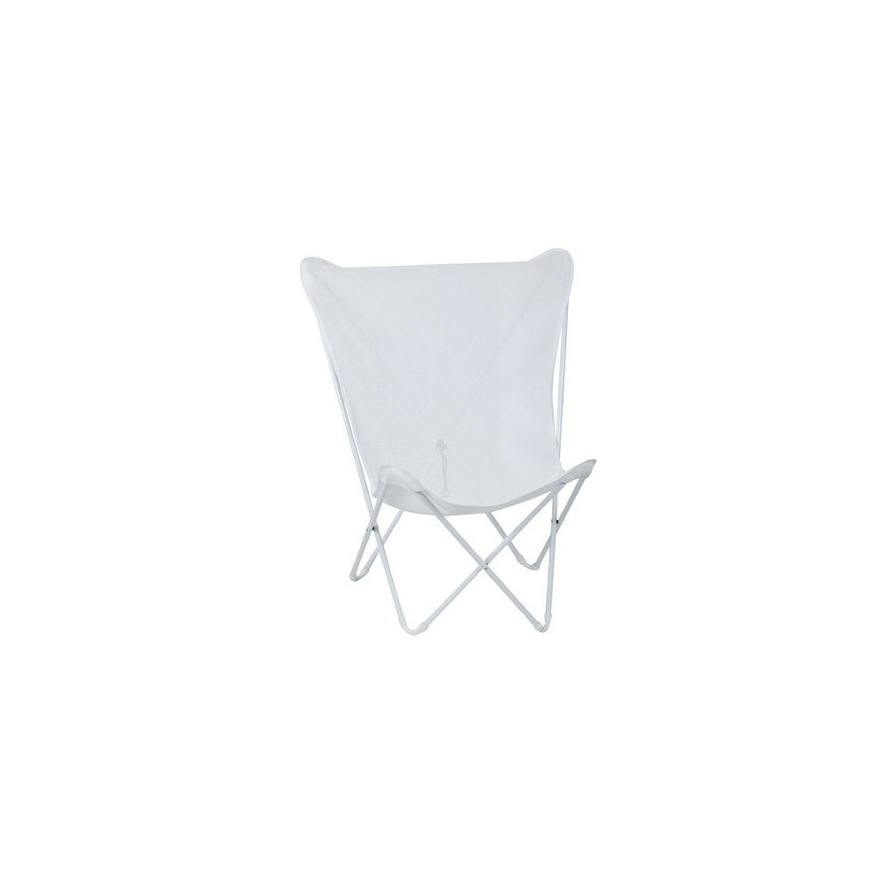 fauteuil pliant 39 blanc 39 maxi pop up lafuma carton. Black Bedroom Furniture Sets. Home Design Ideas