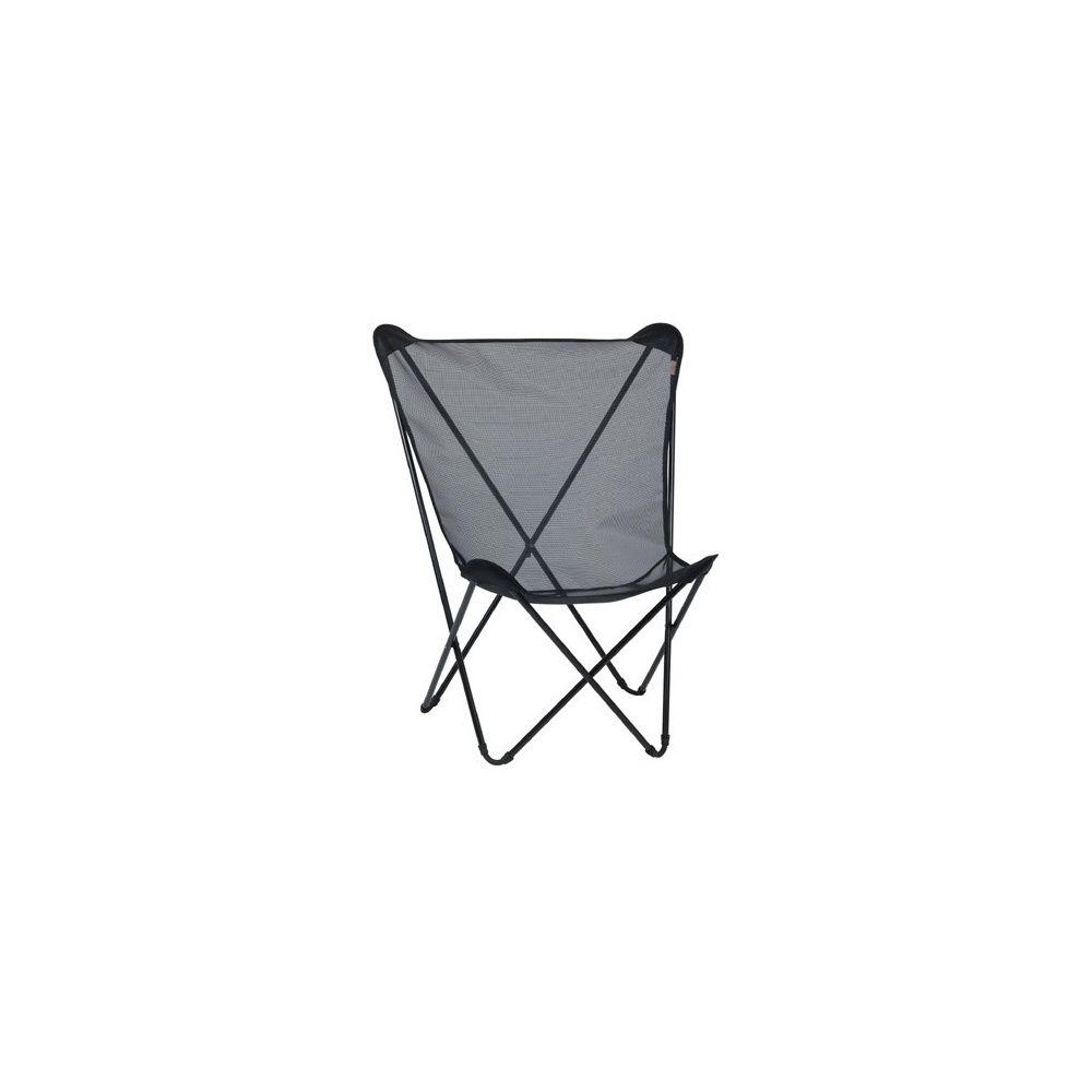 fauteuil pliant 39 noir 39 maxi pop up lafuma carton dimensions pli 116x12 cm gamm vert. Black Bedroom Furniture Sets. Home Design Ideas