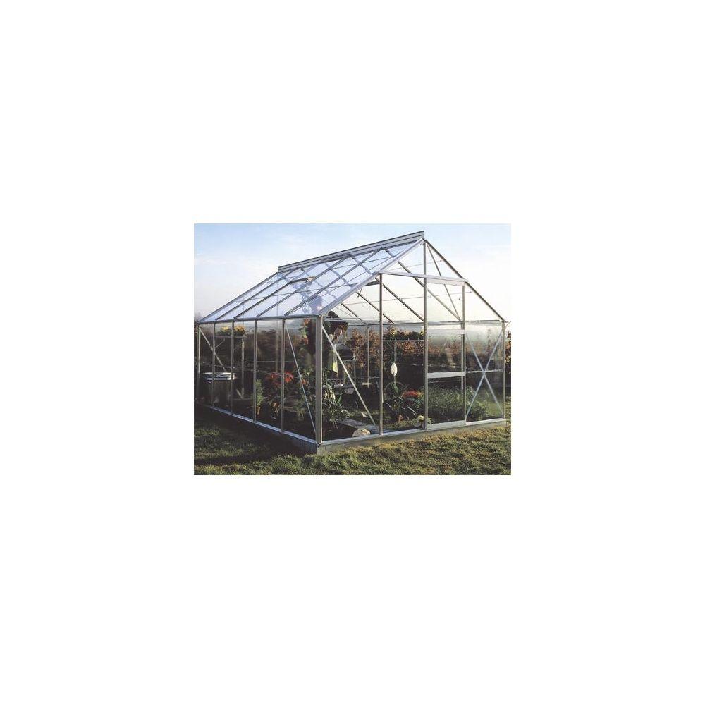 Serre de jardin 10m² hors tout - Verre horticole sans embase - ACD Garden