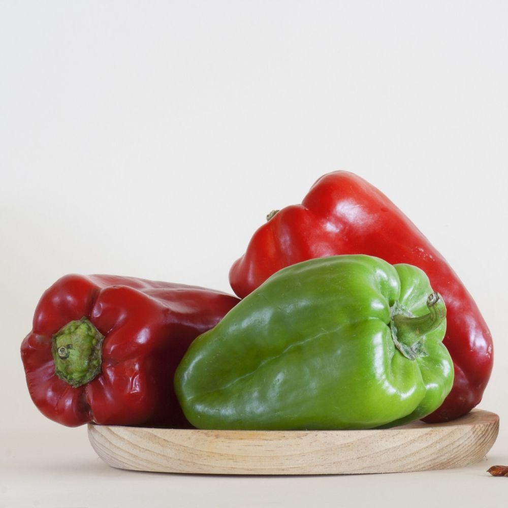 Poivron greff lamuyo f1 le pot de 14 cm gamm vert - Cuisiner le poivron vert ...