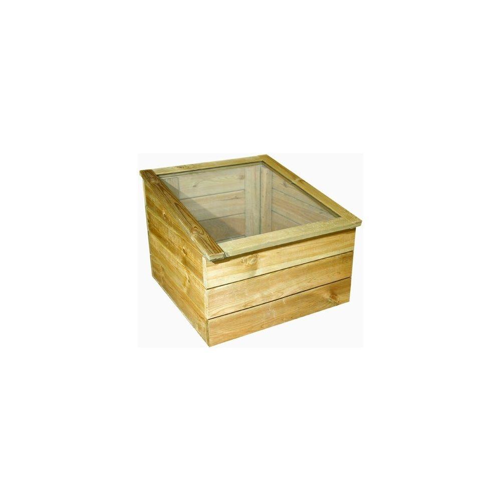 serre ch ssis simple en bois jardipolys en kit monter l. Black Bedroom Furniture Sets. Home Design Ideas