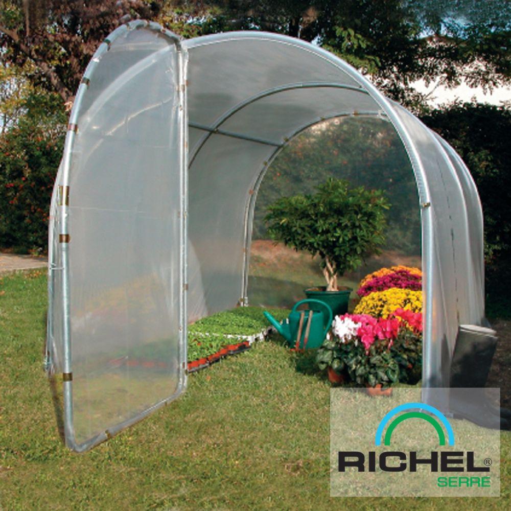serre tunnel mara ch re 9 m richel 1 carton l 226 x p 59 x h 13 cm gamm vert. Black Bedroom Furniture Sets. Home Design Ideas