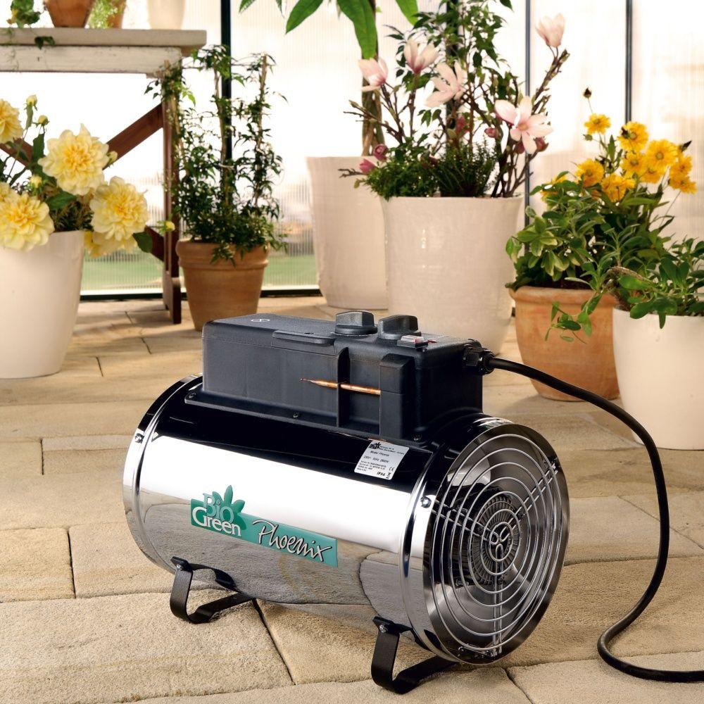 Chauffage électrique manuel Phoenix 2,8kW pour serre jusqu à 16m² -  BioGreen ... 64fdfa39715c