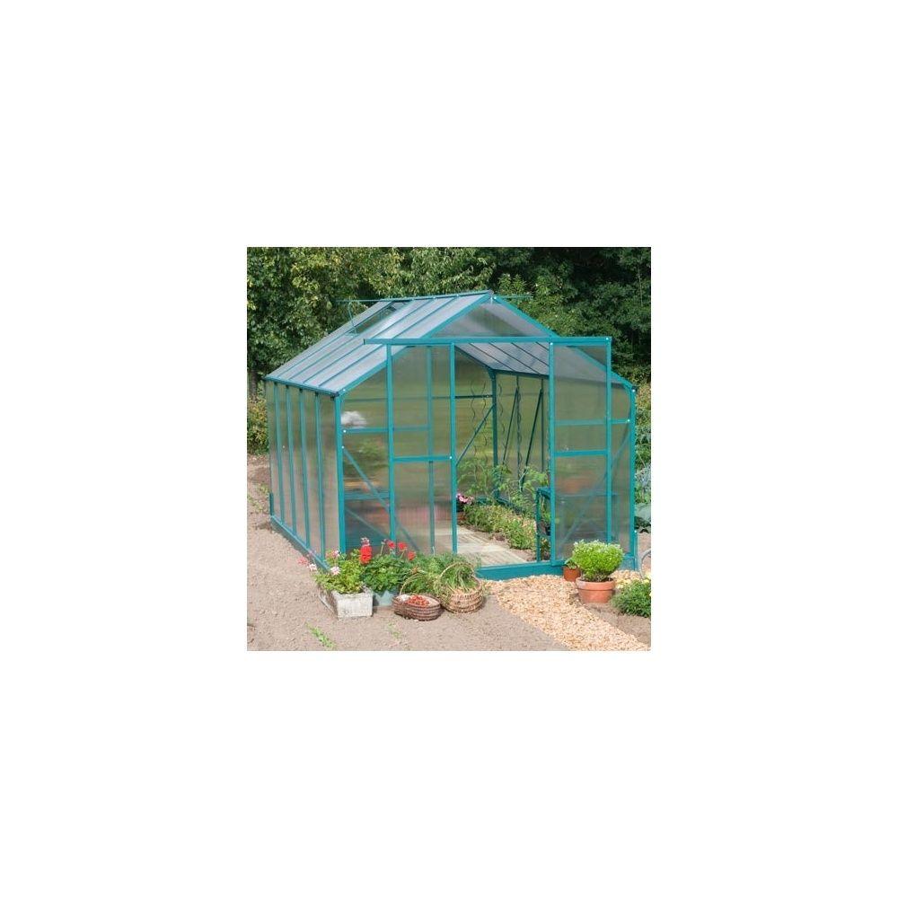Serre de jardin 8,91m² Orchidée en polycarbonate - Jany Flore 2 ...