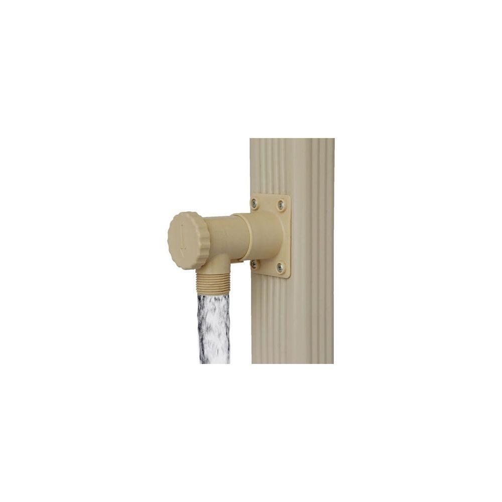 collecteur d 39 eau de pluie pour descente rectangulaire. Black Bedroom Furniture Sets. Home Design Ideas
