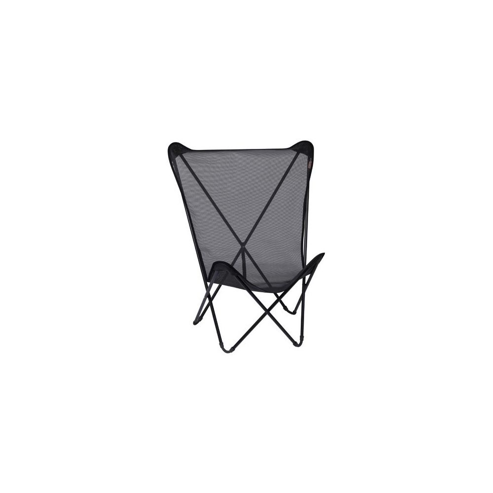 fauteuil pliant 39 noir 39 maxi pop up lafuma carton. Black Bedroom Furniture Sets. Home Design Ideas