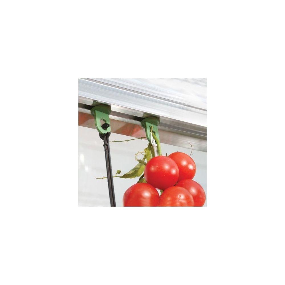 clip de fixation pour serres sachet 16 x 10 cm gamm vert. Black Bedroom Furniture Sets. Home Design Ideas