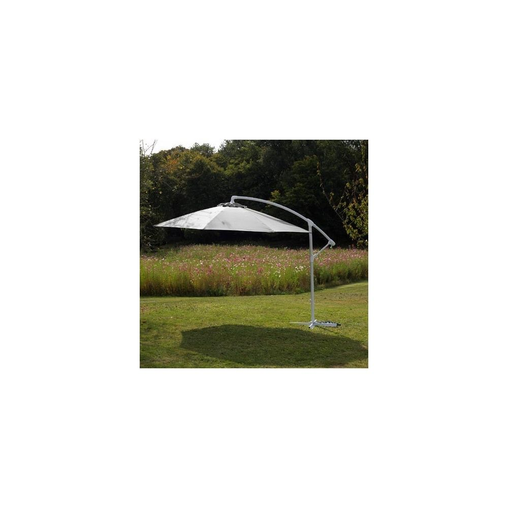 parasol d port orientable aluminium rotation 360. Black Bedroom Furniture Sets. Home Design Ideas