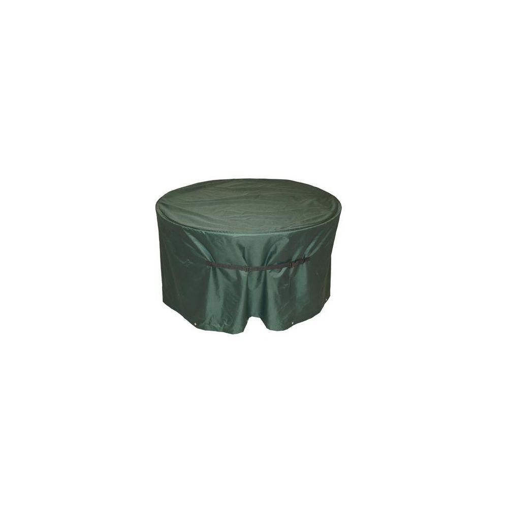 housse de protection respirante pour table de jardin d120cm 1 carton 35x25x10 cm gamm vert. Black Bedroom Furniture Sets. Home Design Ideas