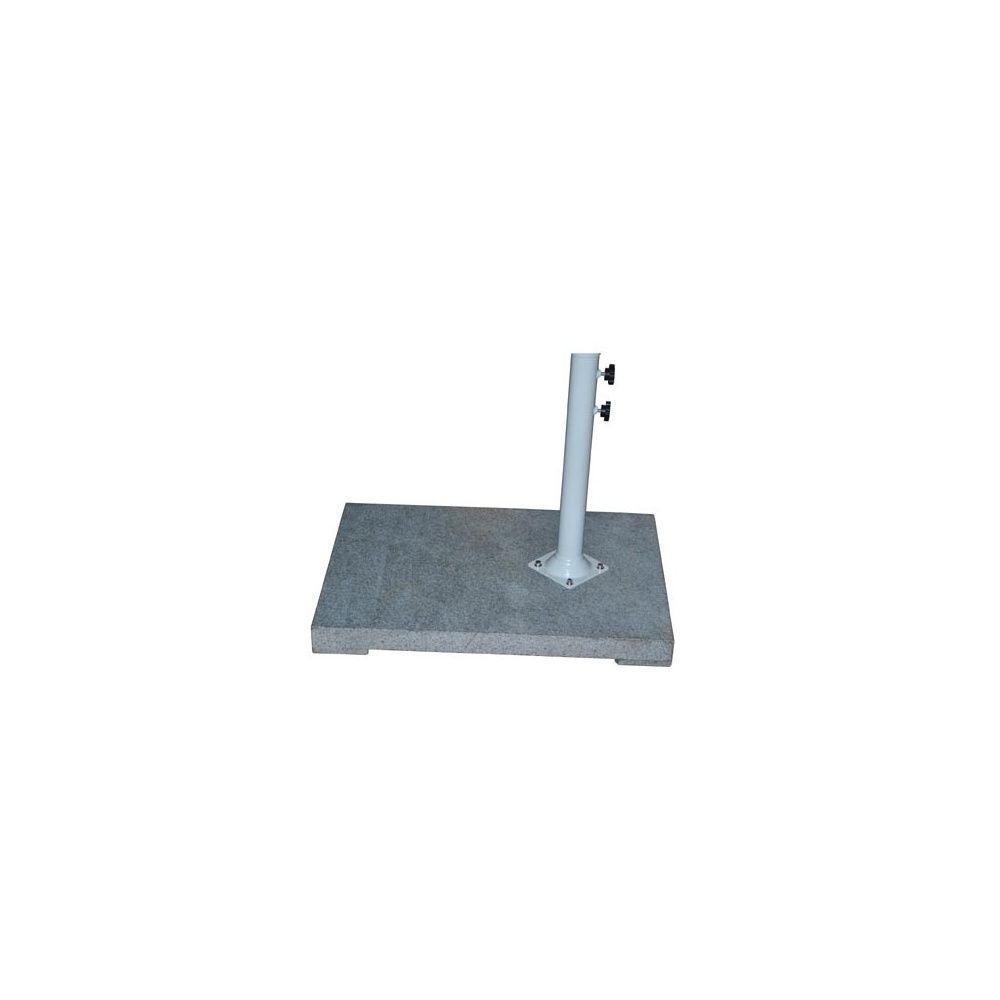pied de parasol a lester blanc diametre 43 cm. Black Bedroom Furniture Sets. Home Design Ideas