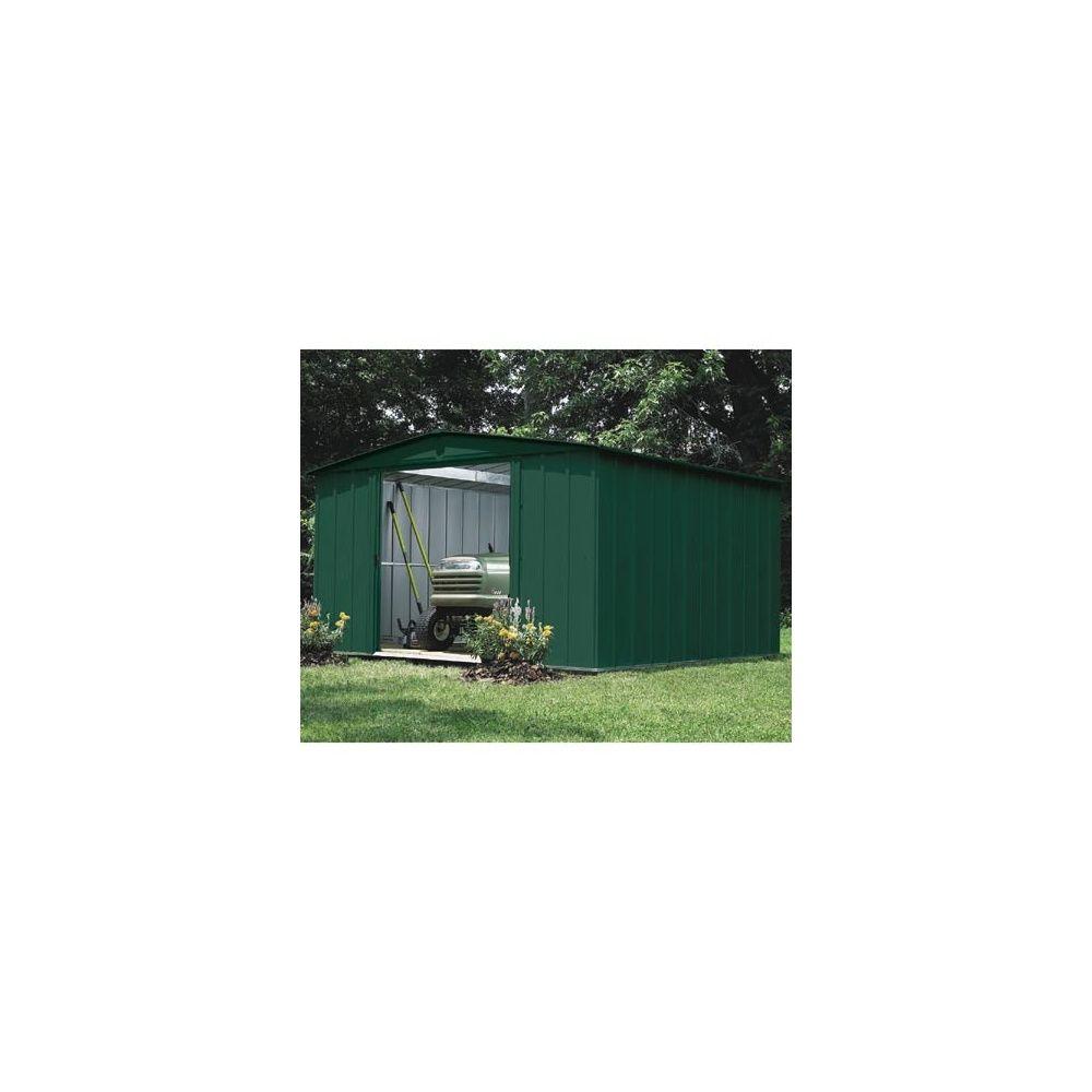 abri de jardin en acier galvanis vert 9 3 m 1 colis 182 x 86 x 11 cm gamm vert. Black Bedroom Furniture Sets. Home Design Ideas
