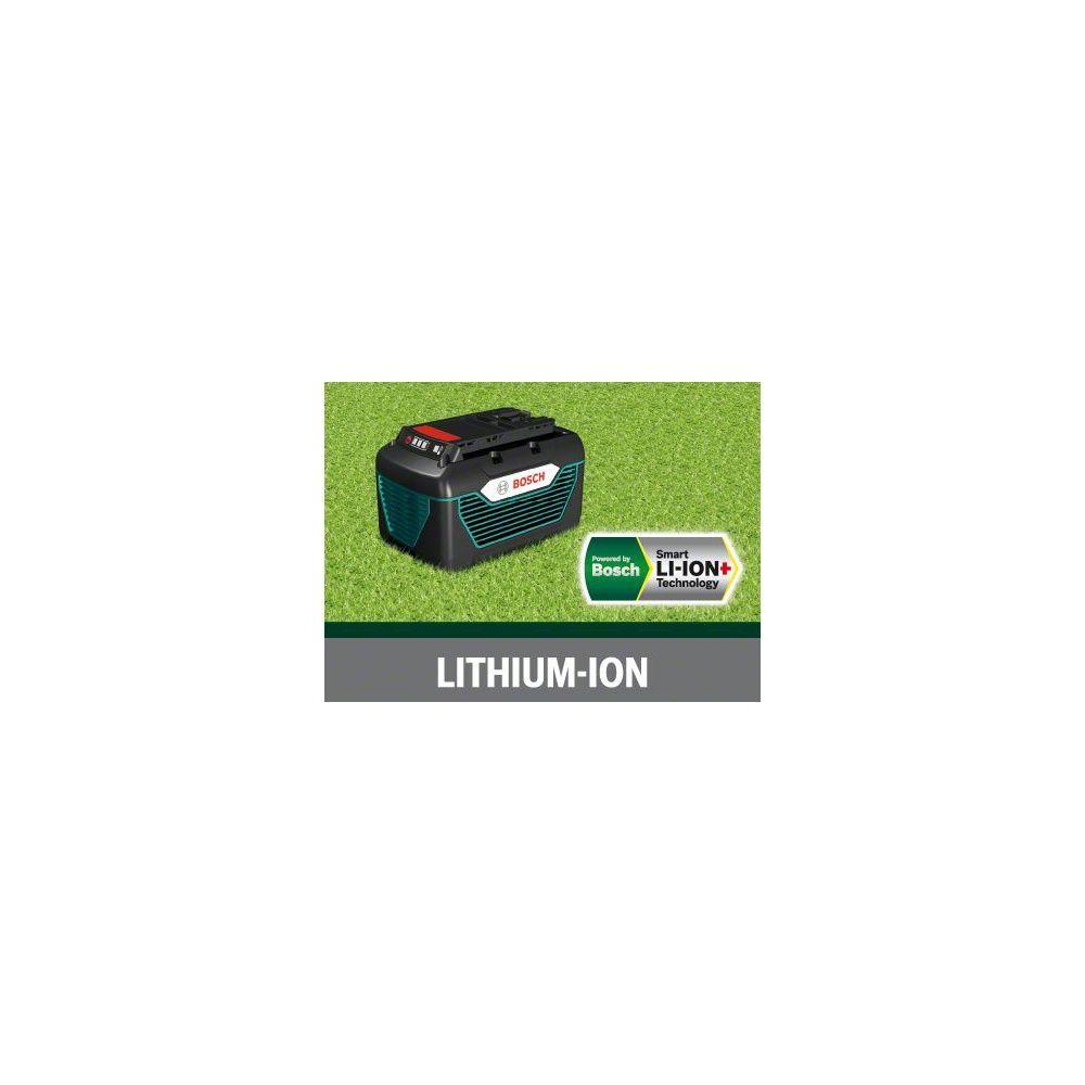 tondeuse batterie lithium ion bosch rotak 43 li 2. Black Bedroom Furniture Sets. Home Design Ideas