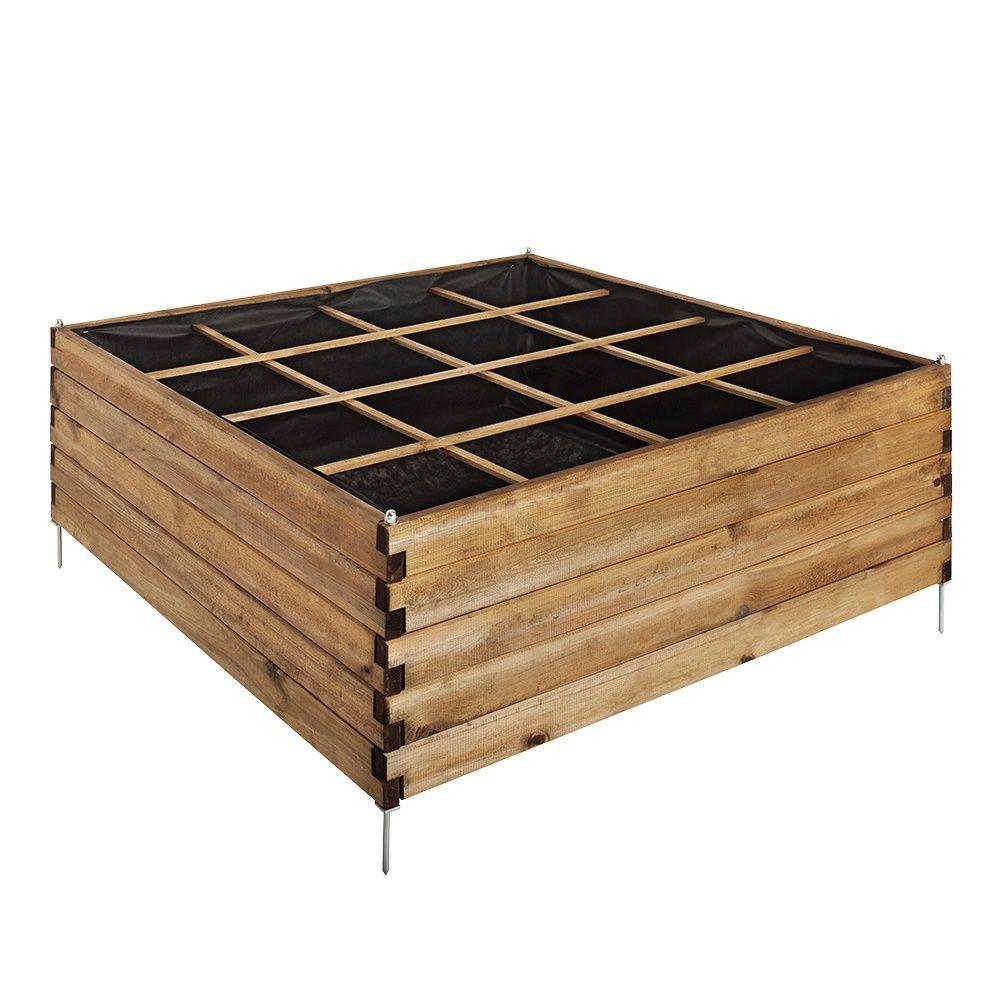 carr potager estragon l120 l120 cm 126 x 36 x 19 cm gamm vert. Black Bedroom Furniture Sets. Home Design Ideas