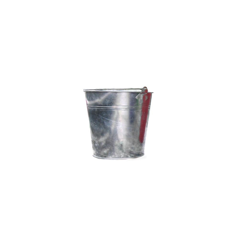 Option : Cache-pot zinc diamètre 18 cm