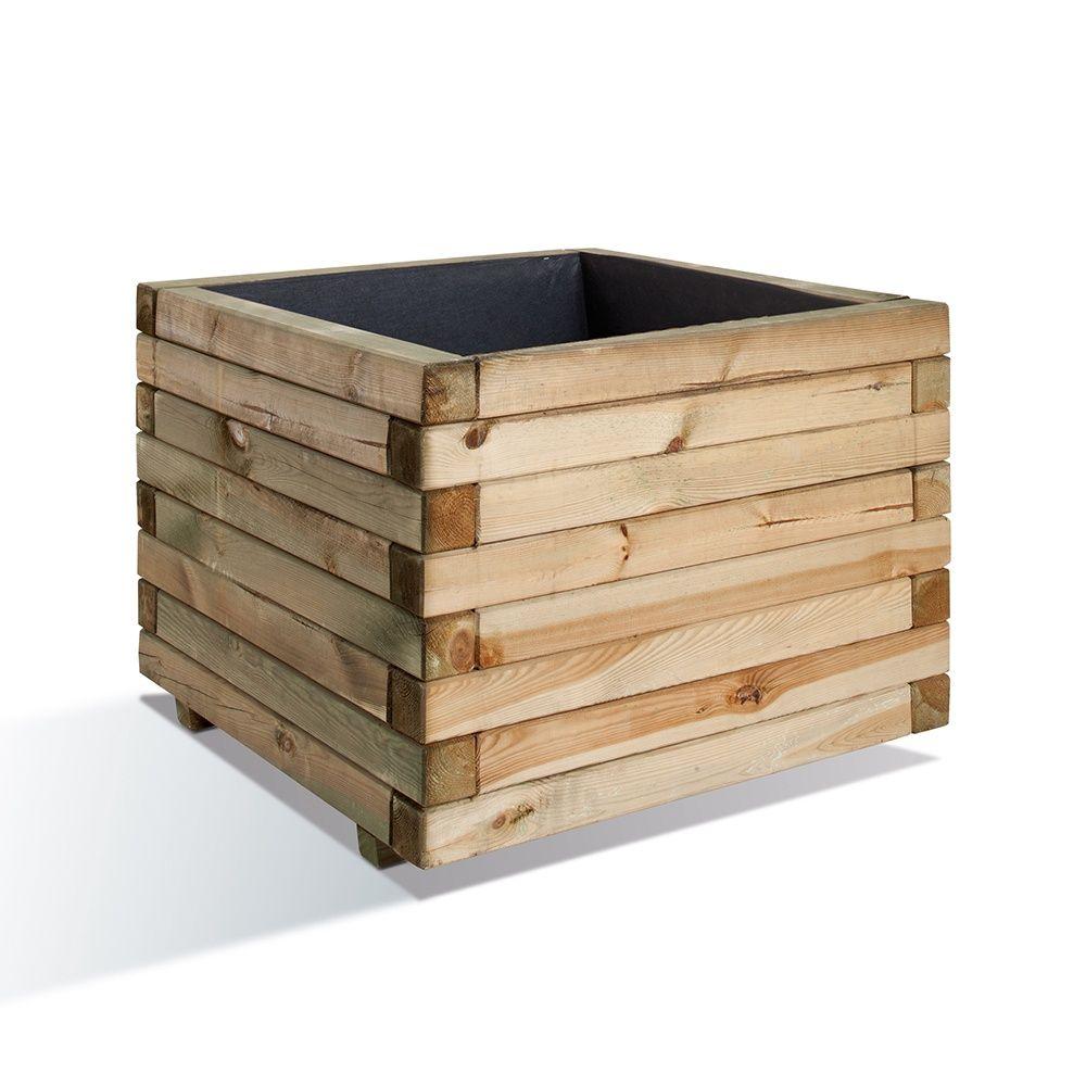 bac fleurs bois trait autoclave l80 h60 cm stockholm. Black Bedroom Furniture Sets. Home Design Ideas
