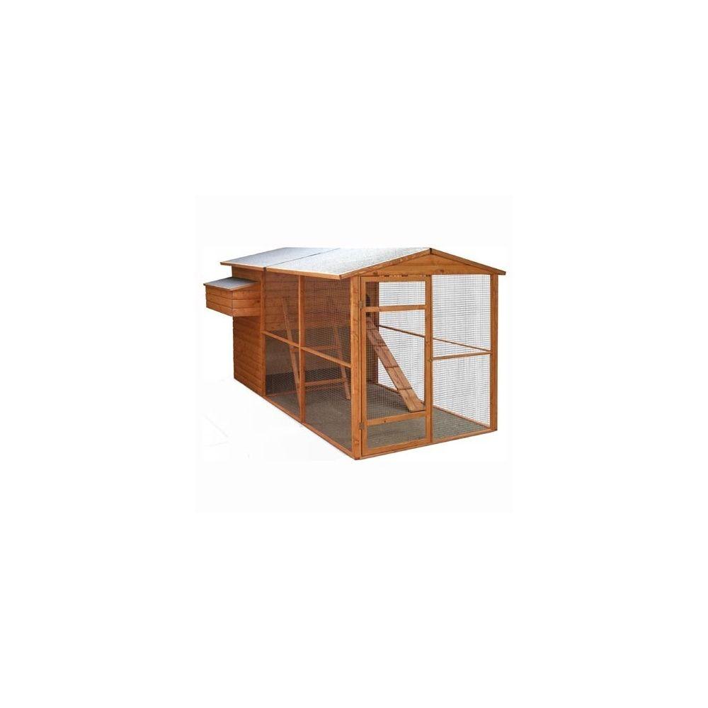 poulailler chick 10 poules carton en kit gamm vert. Black Bedroom Furniture Sets. Home Design Ideas